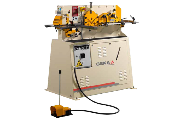 Minicrop - 550Kn One Cyclinder Punching Machine
